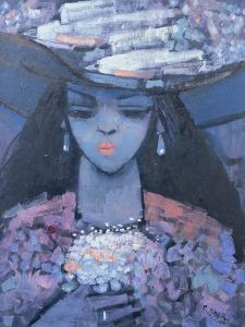 Edwina's Hat, 1991 by Endre Roder