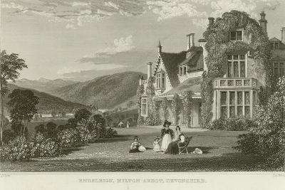 Endsleigh-Thomas Allom-Giclee Print