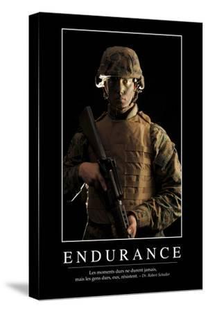 Endurance: Citation Et Affiche D'Inspiration Et Motivation