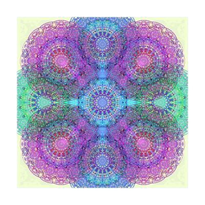 Energy Circles-Alaya Gadeh-Art Print