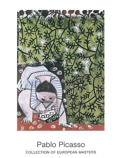 Enfant Jouant, 1953-Pablo Picasso-Art Print