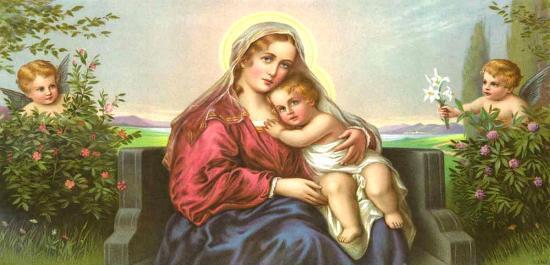 Engel-Madonna II- Mileto-Art Print
