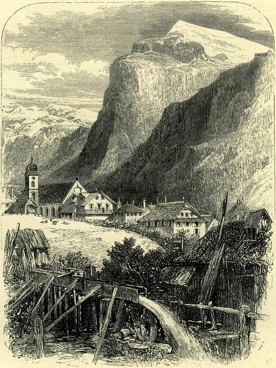 Engelberg and the Titlis Switzerland--Giclee Print