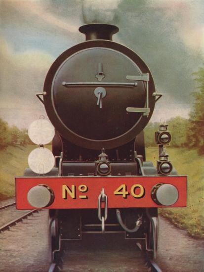 'Engine Headlamps and Discs on the Southern Railway', 1926-Unknown-Giclee Print