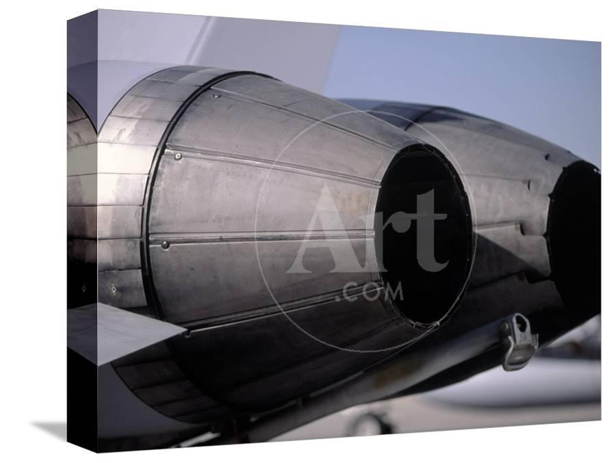 Engine of Military Aircraft Photographic Print by John Connell | Art com
