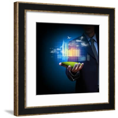 Engineering Automation Building Design-Sergey Nivens-Framed Photographic Print
