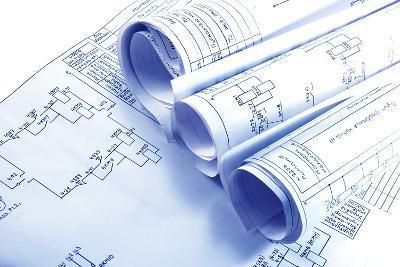 Engineering Electricity Blueprint Rolls-kaetana-Photographic Print