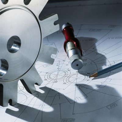 Engineering Equipment-Tek Image-Photographic Print