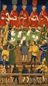 England: Court, 15Th Century