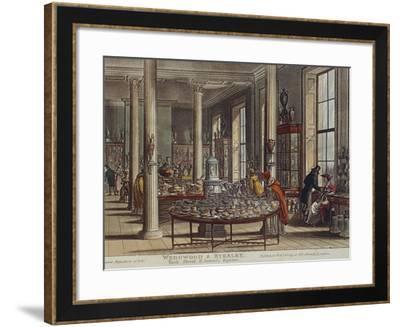 England, London, Wedgwood and Byerley Shop, 1809--Framed Giclee Print
