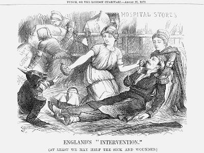 England's Intervention, 1870-Joseph Swain-Giclee Print