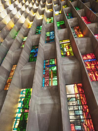 England, Warwickshire, Coventry, New Coventry Cathedral-Steve Vidler-Photographic Print