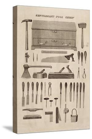 A Gentleman's Tool Chest, from the Catalogue of Cutler and Co. (Engraving)