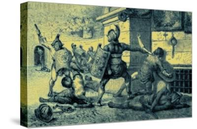 A Roman Holiday, Combat of Gladiators