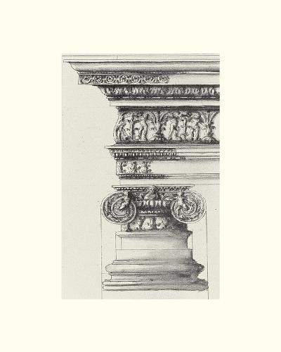 English Architectural II-The Vintage Collection-Art Print