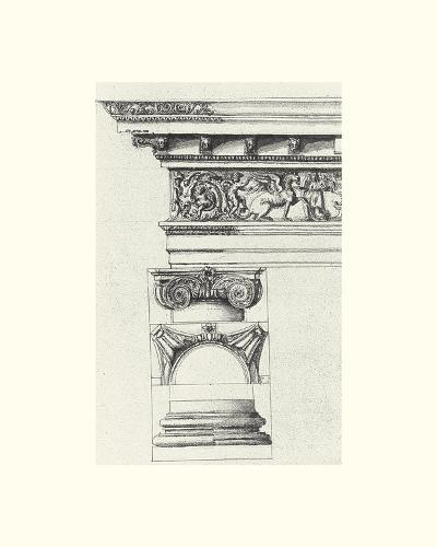 English Architectural IV-The Vintage Collection-Art Print
