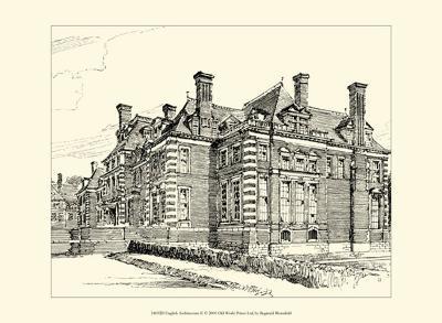 English Architecture II-Reginald Blomfield-Art Print