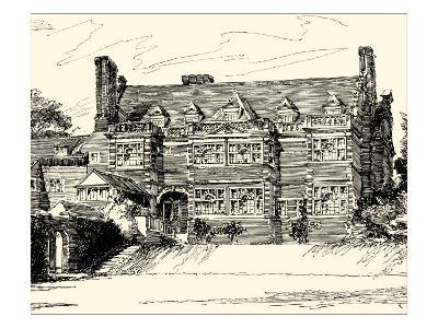 English Architecture III-Reginald Blomfield-Art Print