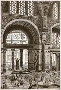 Baths of Caracalla (Restored) (Litho) by English