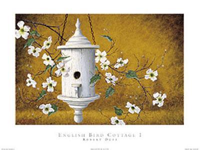 English Bird Cottage I-Robert Duff-Art Print