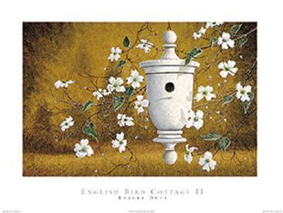 English Bird Cottage II-Robert Duff-Art Print