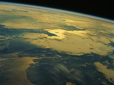English Channel from Orbit--Photographic Print
