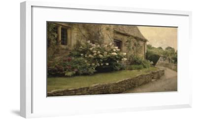 English Cottage I-Terry Lawrence-Framed Art Print