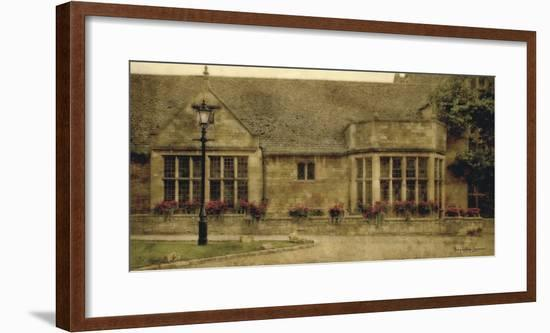 English Cottage II-Terry Lawrence-Framed Art Print