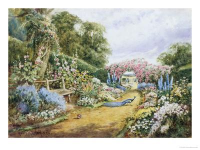 English Country Garden-Henry Stannard-Giclee Print