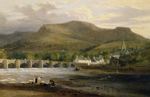 Crickhowell, Breconshire, c.1800 by English