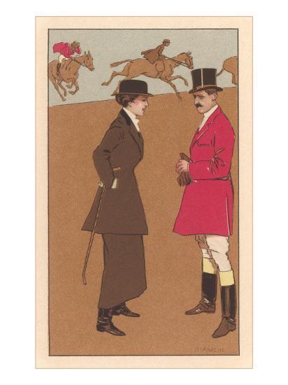 English Fox Hunt--Art Print