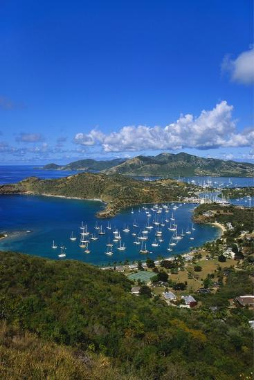English Harbour, Antigua, Caribbean-Jeremy Lightfoot-Photographic Print