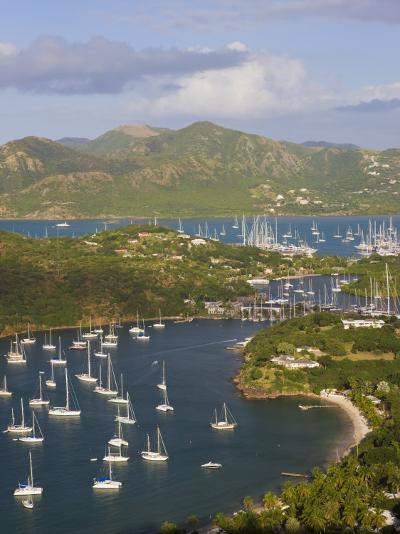 English Harbour from Shirley Heights, Antigua, Leeward Islands, West Indies-Gavin Hellier-Photographic Print
