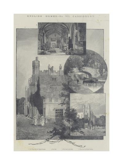 English Homes, Cassiobury-Charles Auguste Loye-Giclee Print