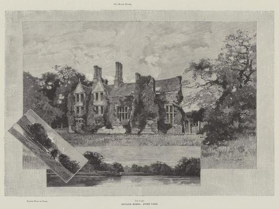 English Homes, Stoke Park-Charles Auguste Loye-Giclee Print