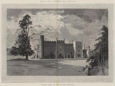 English Homes, Wycombe Abbey, the Seat of Earl Carrington-Charles Auguste Loye-Giclee Print