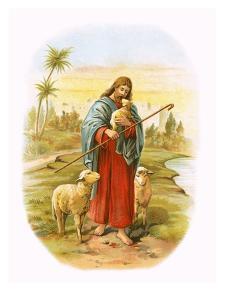 Jesus, the Good Shepherd by English