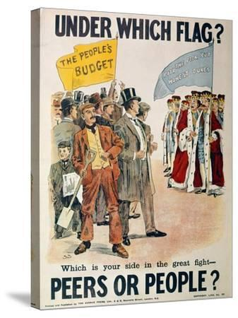 Liberal Party Poster for the British General Election of January 1910 (Colour Litho)