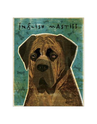 English Mastiff (Brindle)-John Golden-Giclee Print