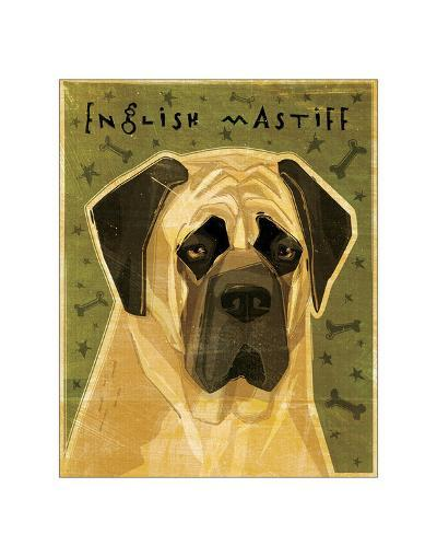English Mastiff-John Golden-Giclee Print