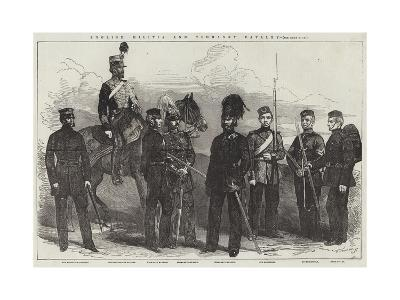 English Militia and Yeomanry Cavalry--Giclee Print
