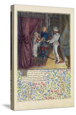 Ms. 2597 King Rene Dreams: the God of Love Steals from Him His Heart Without Him Knowing