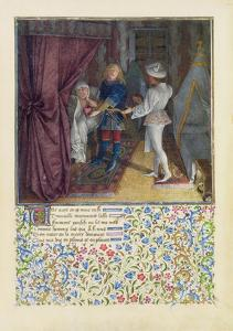 Ms. 2597 King Rene Dreams: the God of Love Steals from Him His Heart Without Him Knowing by English