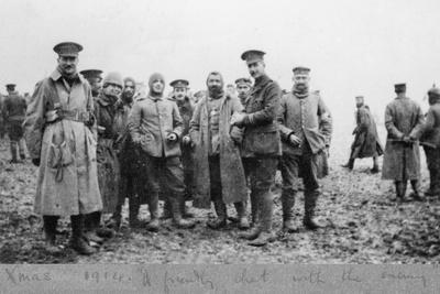 'A Friendly Chat with the Enemy', the Christmas Day Truce of 1914