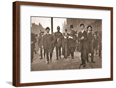 Arrest of Miss Dora Marsden Outside the Victoria University of Manchester, 4th October 1909