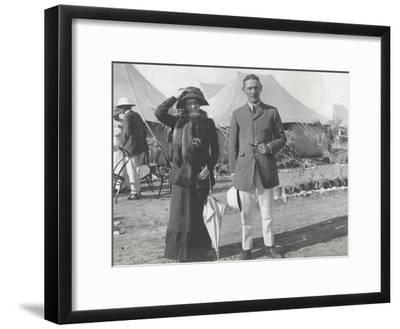 Captain and Lady Helen Mitford in the Tented City, Delhi, December 1911