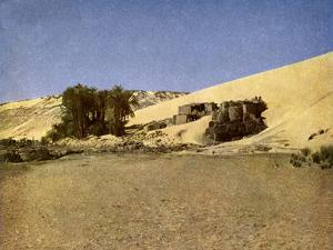 Egypt - Nubian settlement by English Photographer
