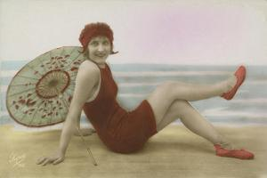 Glamour Postcard by English Photographer