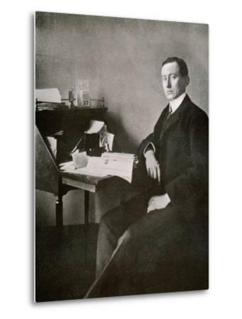 Guglielmo Marconi, from 'The Year 1912', Published London, 1913