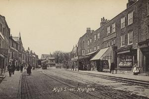 High Street, Highgate, London by English Photographer
